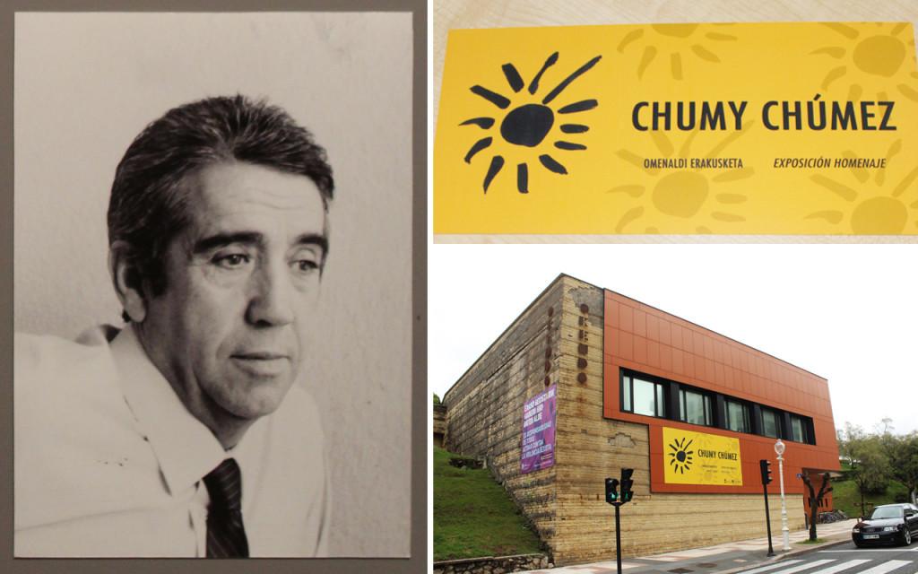 chumy chumez el humorista de san sebastian homenaje en okendo