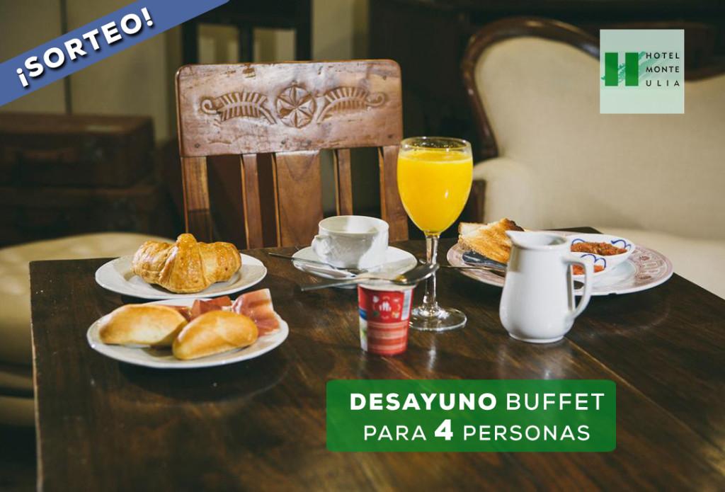 Hoteles con desayuno en donostia san sebastian. El Hotel Monte Ulia de Donostia sortea un desayuno buffet para 4 personas. Participa en facebook y disfruta
