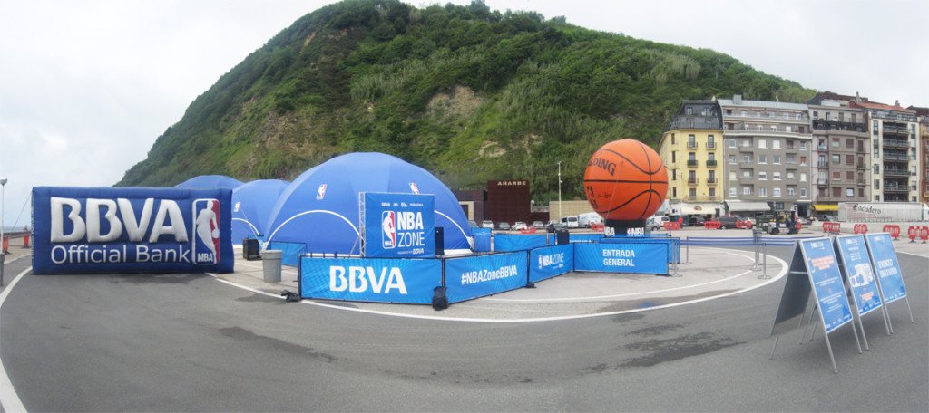 fan zone nba en donostia san sebastian